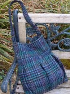 Skirt to Purse Transformation - You are going to love how sturdy this brand new purse is when you wear it about town.
