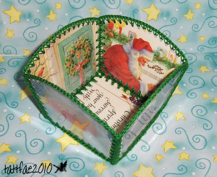 Christmas card baskets - OCCASIONS AND HOLIDAYS