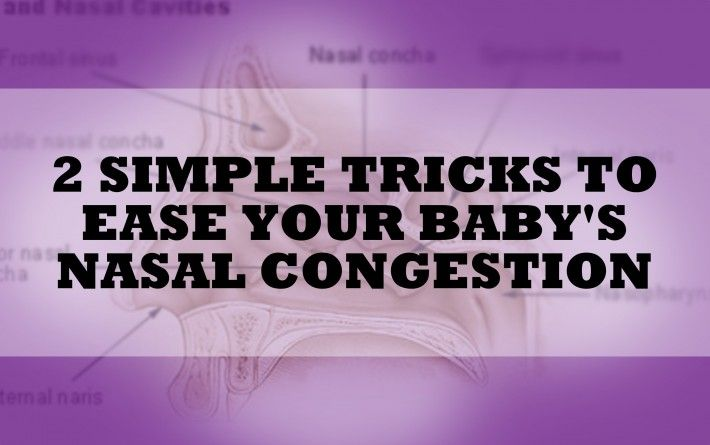 Have you ever tried breastmilk up the nose?  It works great for nasal congestion!