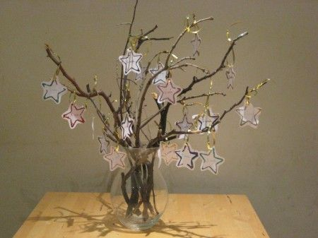 What a beautiful New Year's Craft for kids.  I love this idea