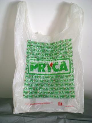 Bolsa de plástico de Pryca