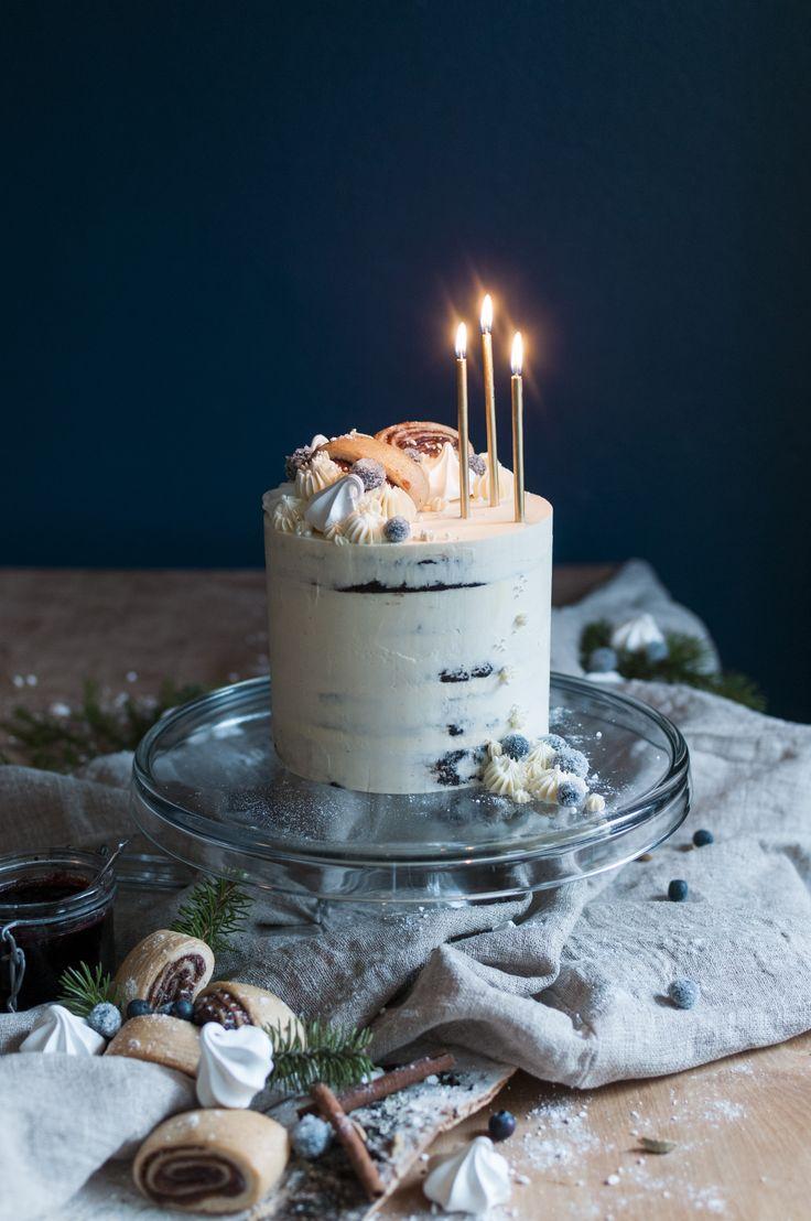 Say It With a Cake!   Kakkumuija   Glutenfree   @say_it_with_a_cake   w. Dansukker Suomi