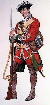 The Battle of Ticonderoga 1758