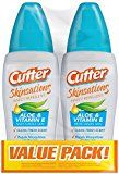 Cutter 54012 Skinsations 2 to 6-Ounce Insect Repellent Pump Spray Case Pack of 2
