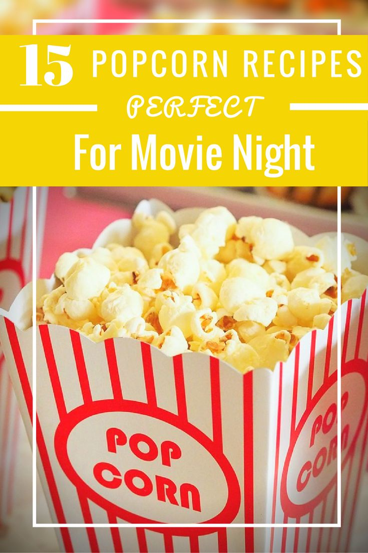 Lots of yummy recipes to make better than movie theater popcorn at home!