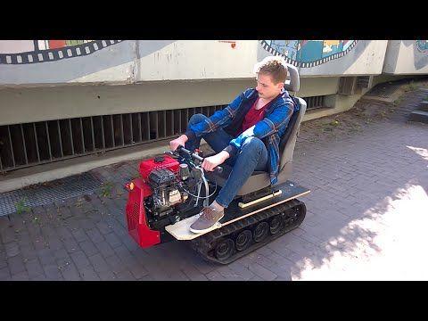 Das Kettenfahrzeug des Physiklehrers Part 2 // Twintrack Vehicle - YouTube
