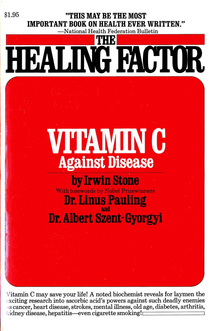 The Healing Factor: Vitamin C Against DiseaseC, this is an Electronically Published book.