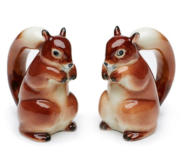 Squirrels Salt And Pepper Shakers   Hardtofind.