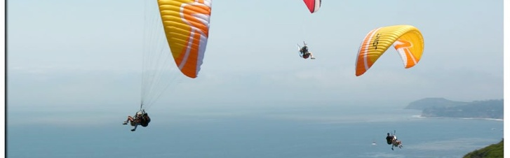 Thrill seekers definitely need to check out Malibu Paragliding & Paramotor!