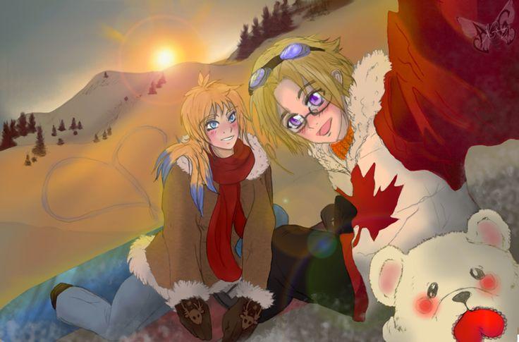 [OC APH] Alaska and Canada - by Alicja Granieczny