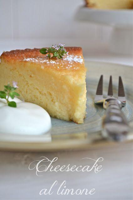 Cheese cake al limone