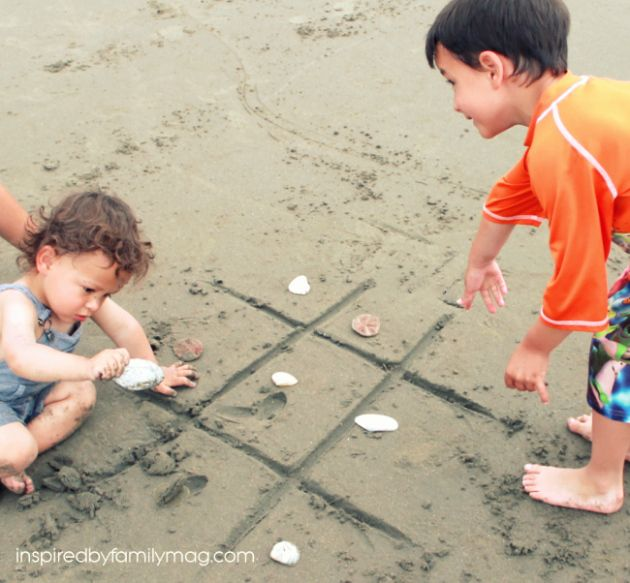 10 Best Beach Activities for the Family from @Mari Hernandez-Tuten, Inspired by Family. So many fun ideas for utilizing the environment around you, plus easy games that require smaller objects - which means that you don't have to lug around the latest and greatest large beach toy!