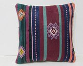 decorating living room 18x18 turkish pillow case outdoor pillow case kilim pillow gypsy pillow cover large pillow decorative pillows 28045