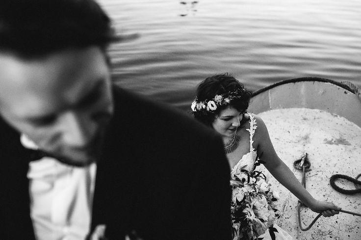 Hochzeit bei der Berliner Welle // Ann.Meer by Anna-Maria Dahmen
