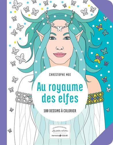 100 illustrations sur le thème des Elfes (version petit format)