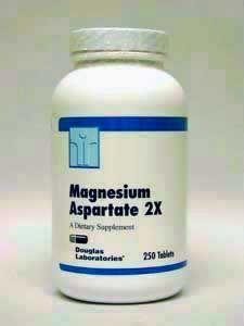 Douglas Labs- Magnesium Aspartate 2X 250 tabs