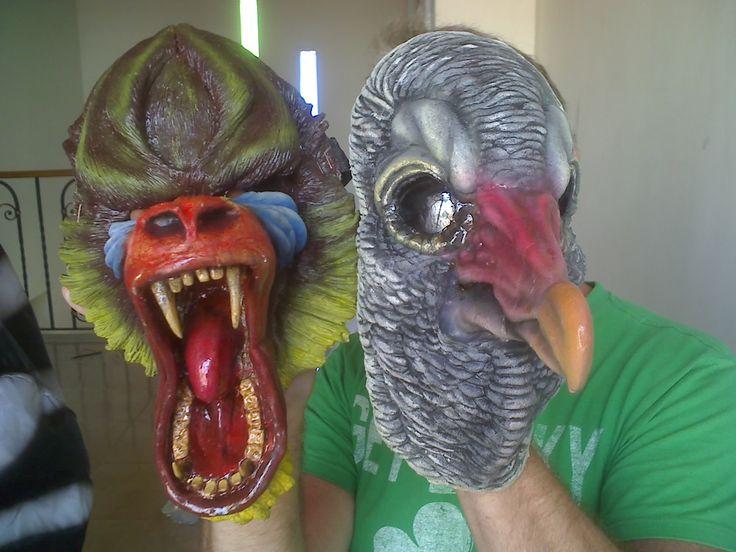 Mascaras para video musical.