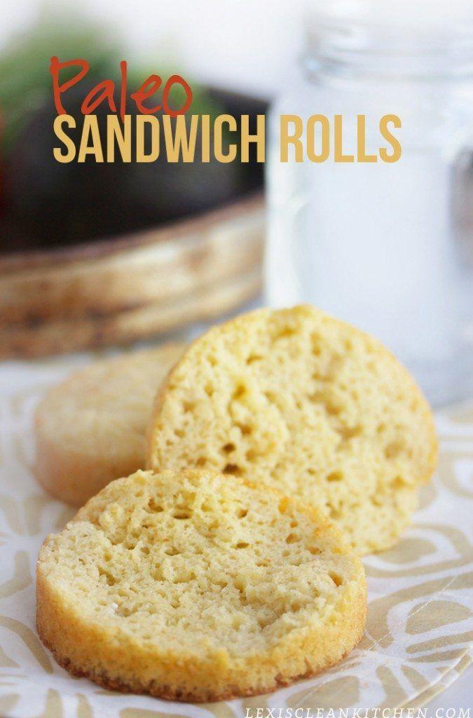 Paleo Sandwich Rolls