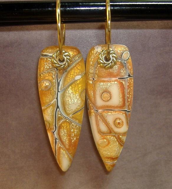 Mokume Gane Earrings: Clay Polymer And Tutorials