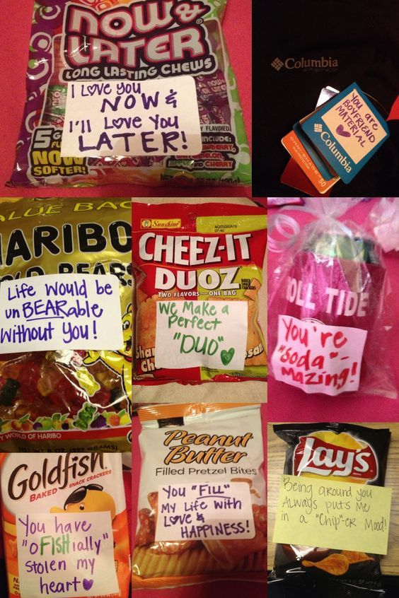 Treats | DIY Valentine Gifts for Him | DIY Birthday Gifts for Him Anniversary