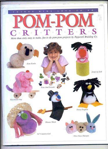 Animaux en pompon et en fil chenille Pom Pom Critters - dong - Picasa Web Albums
