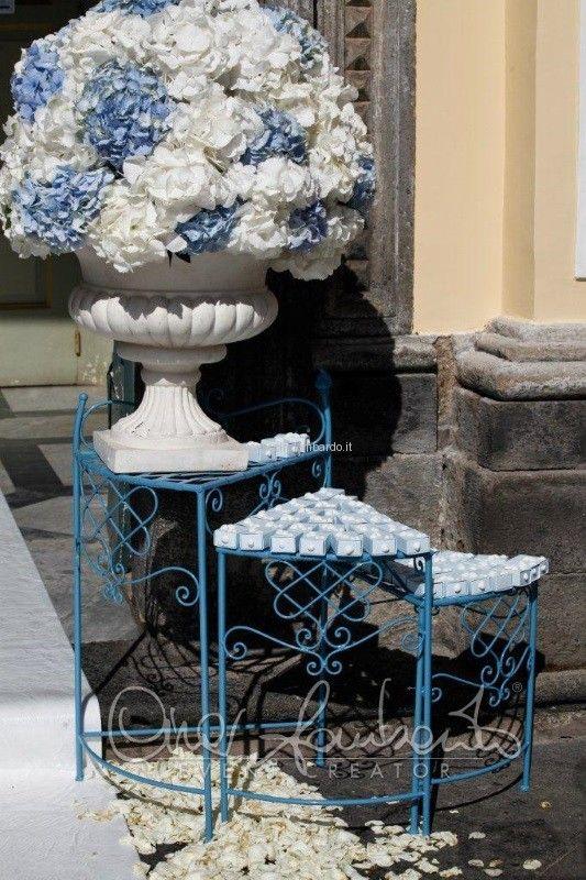 Matrimonio in stile marino. Idee originali. La scatolina portariso.