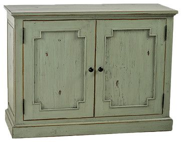 Stockman Sideboard, Green - transitional - Buffets And Sideboards - SmartFurniture