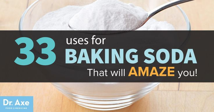Most of us think of baking soda as an ingredient for cooking, but baking soda uses include injuries, digestive issues, stomach pain, coughs, and daily...