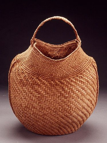 Willow Bark Basket - Jennifer Zurick