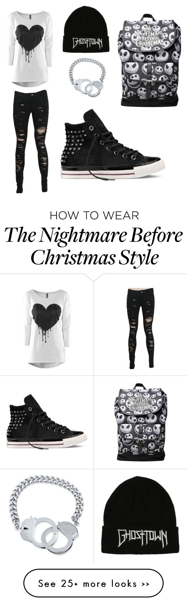 """Its black"" by audrey-is-8-ok on Polyvore featuring BERRICLE and Converse"