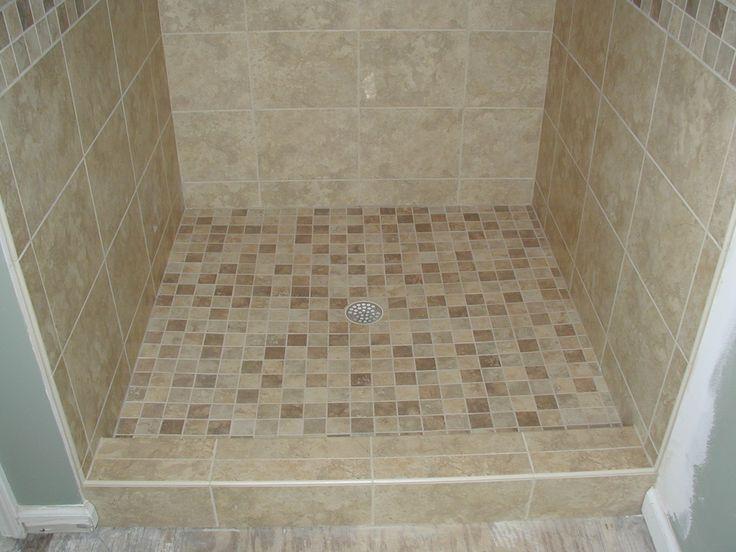 13 best bathroom ideas images on Pinterest   Small tiled ...