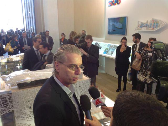 L'architetto Michele Molè titolare dello studio Nemesi & Partners autore del progetto del #PadiglioneItalia ai microfoni di #RaiExpo