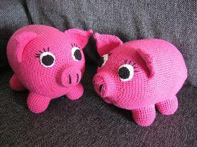 Crochet Fairy: Penny the Pig