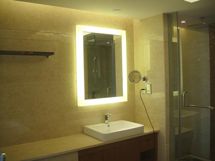 Backlit Bathroom Vanity Mirror Paris Mirror Dimmable Oval Backlit