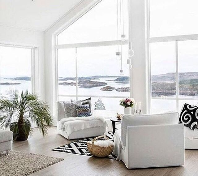 I could sit in that spot and stare at the view all day long | Home inspiration
