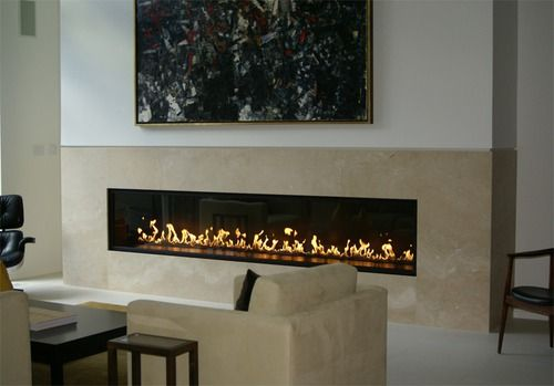 Linear Gas Fireplace - Bing Images
