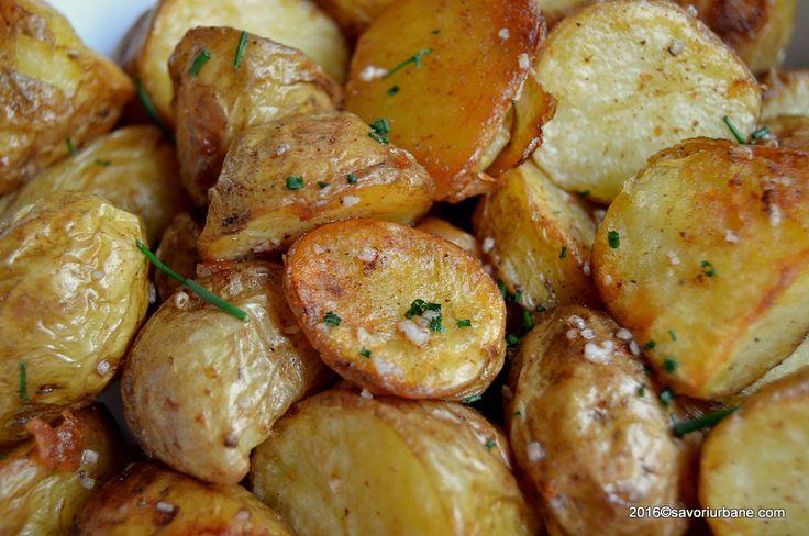 Cartofi fripti la cuptor