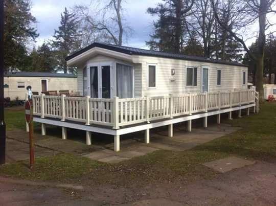 6 Berth Caravan to rent at Haggerston Castle Holiday Park, Northumberland