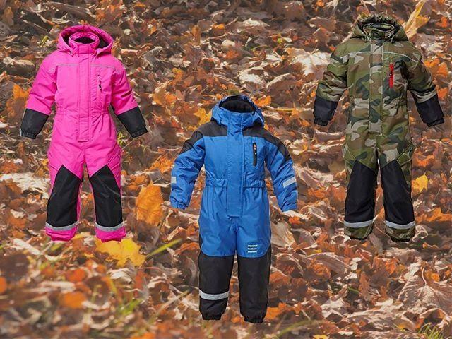 Kids winter overall