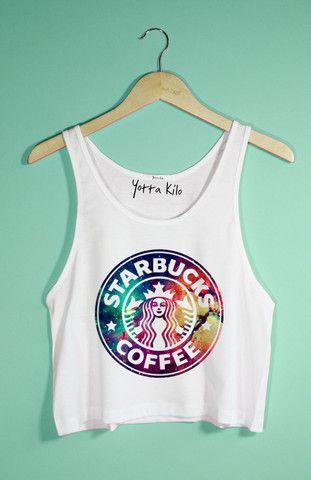 Galaxy Starbucks Tank Top - Yotta Kilo $25