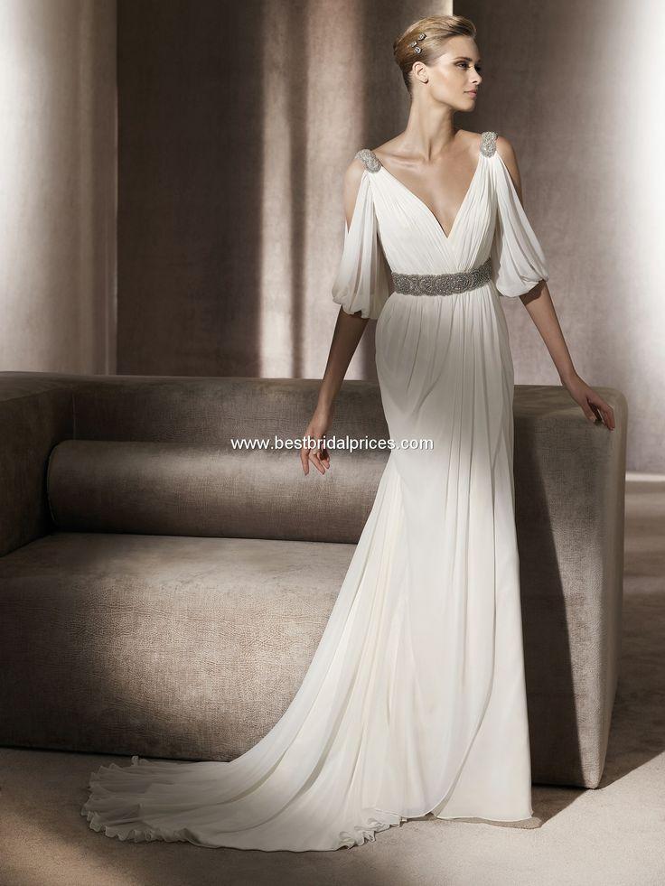 Pronovias Wedding Dresses Style Famosa Roman Style