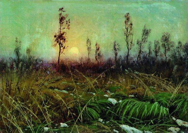 Николай Александрович Сергеев Пейзаж 1890