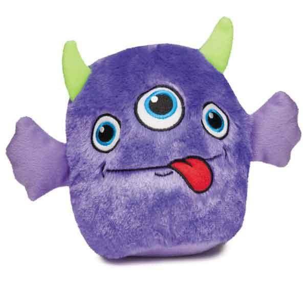 Zanies Rock Monster Plush Dog Toy Purple Dog Toys Smart Dog