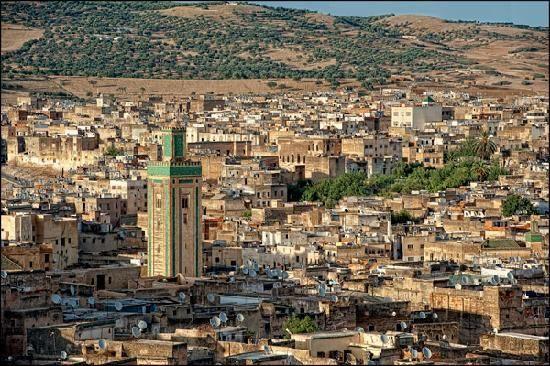 riad-dar-al-safadi-vistas.jpg (550×366) Fez, Marokkó