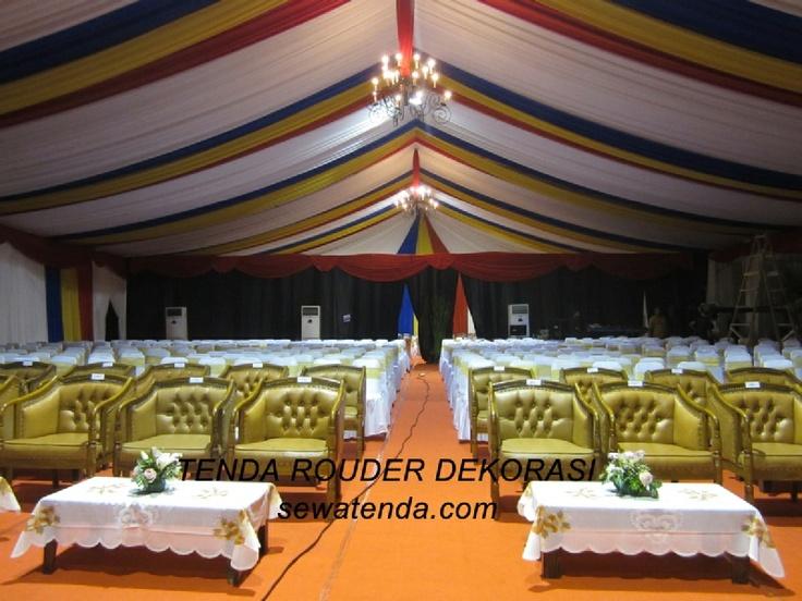 Jasa sewa tenda terbesar dan terlengkap di Jakarta