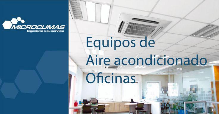 Soluciones a medidas para empresas, aire acondicionado oficinas, plantas libres, salas de reuniones, salas de venta y áreas de servidores pequeñas.