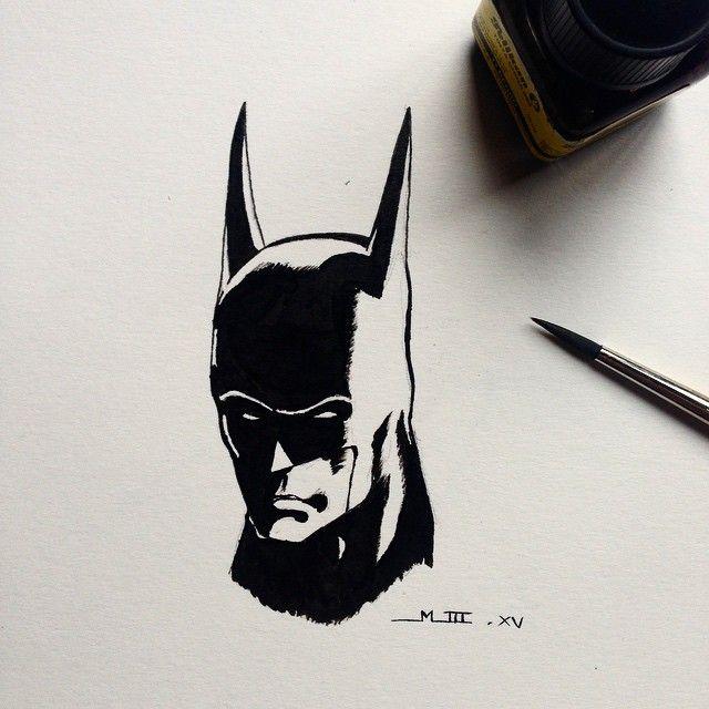 Batman. Tinta china.