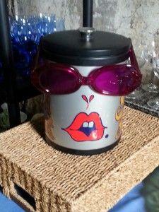 fabulous designer vintage ice bucket