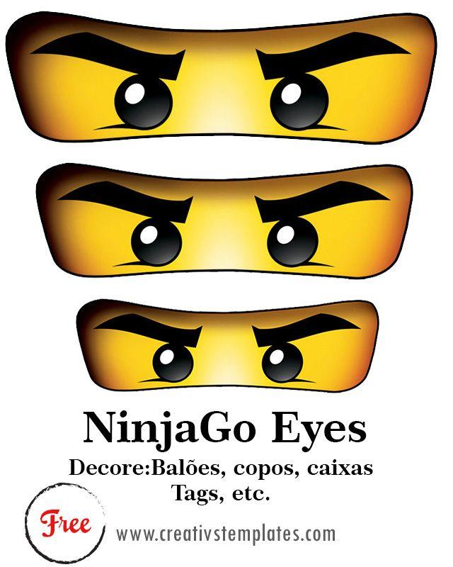 Kit Festa Ninjago Freebies Artes Gr 225 Tis Pinterest