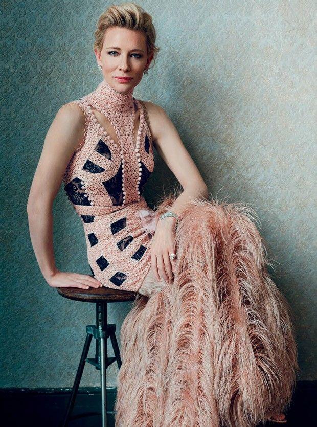 Cate Blanchett for Harper's Bazaar UK February 2016 by Norman Jean Roy